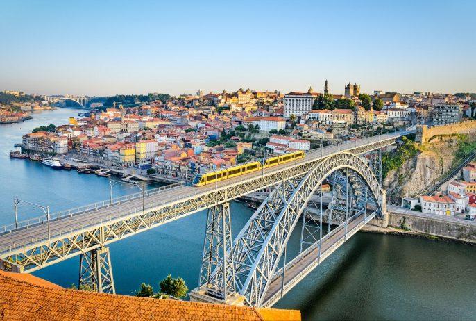 Porto von Oben