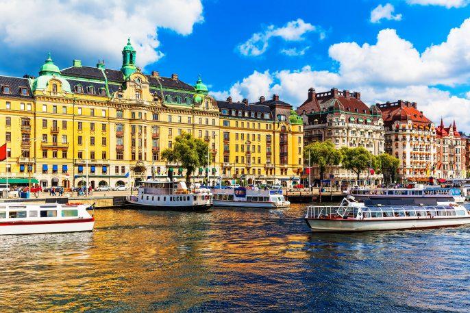 Schwedens Hauptstadt Stockholm
