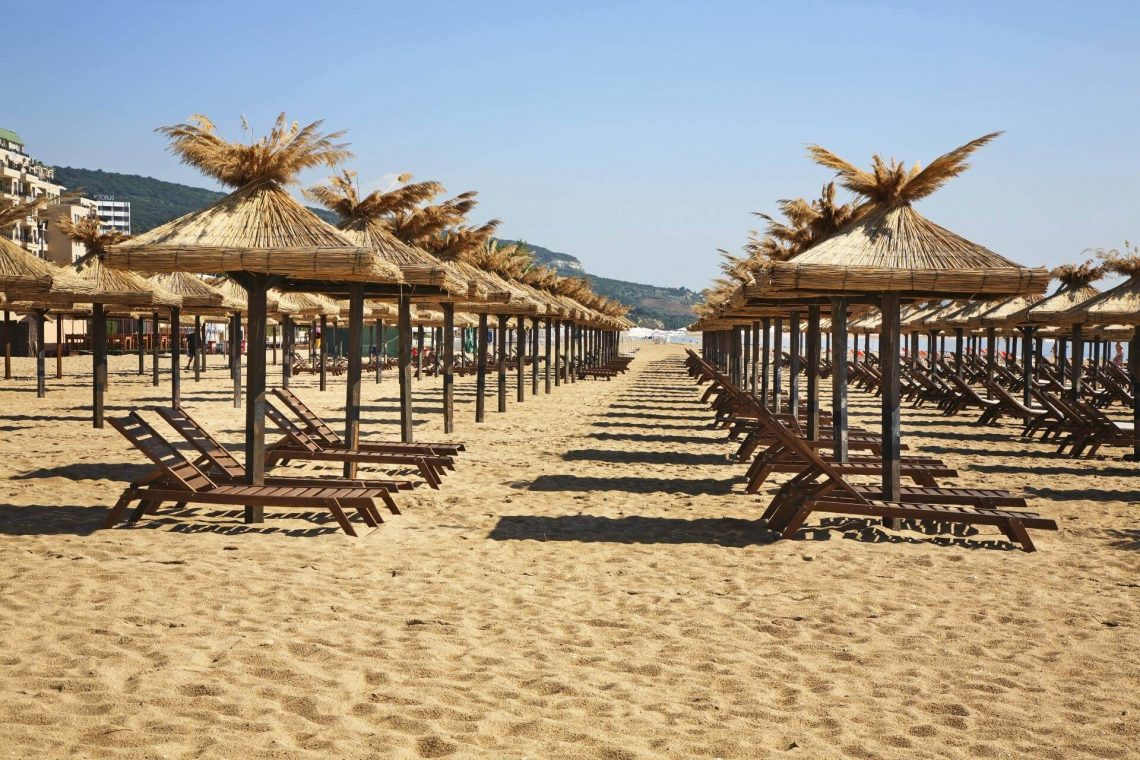 Goldtstrand in Bulgarien