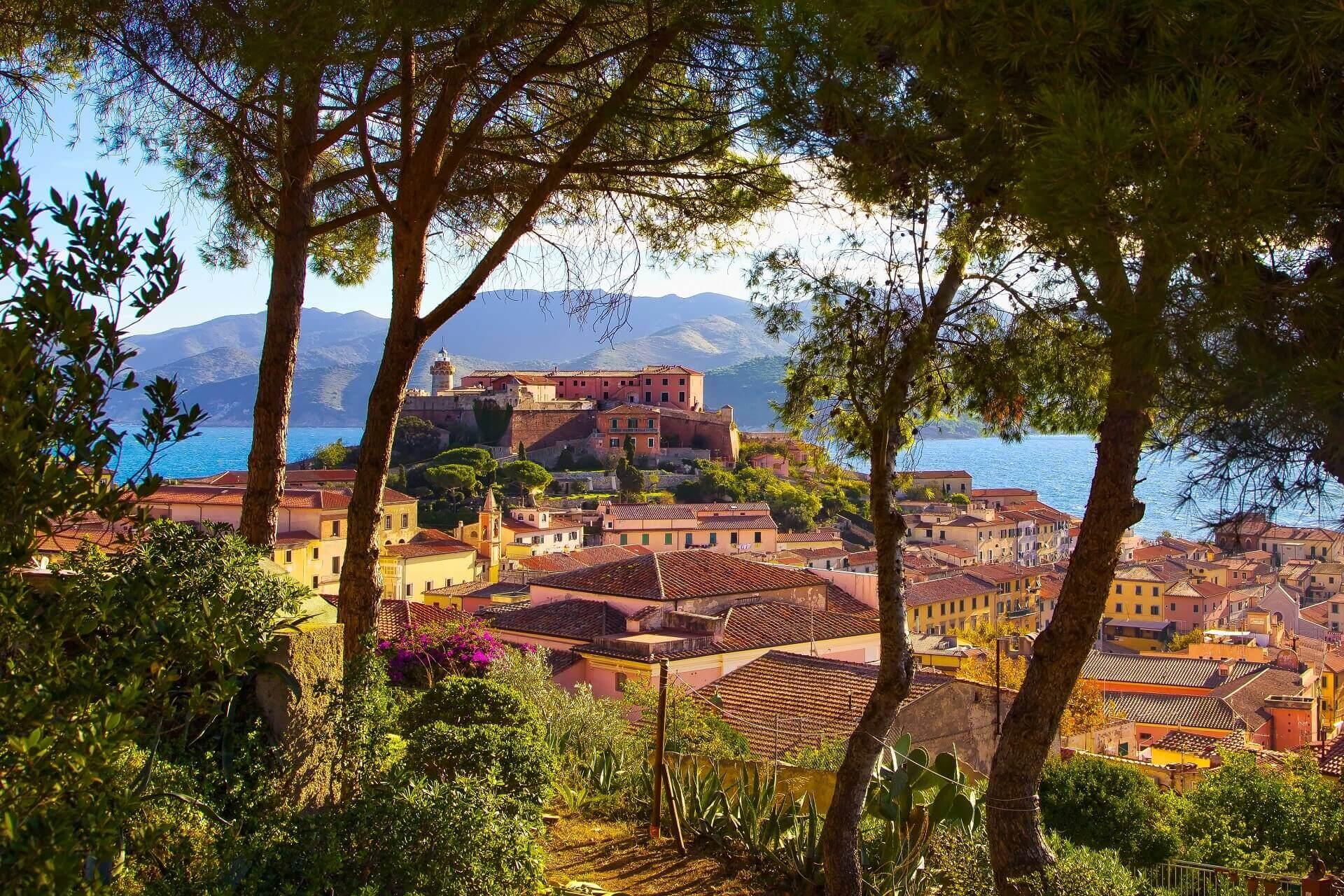 Portoferraio auf Elba in Italien ist einen Besuch wert