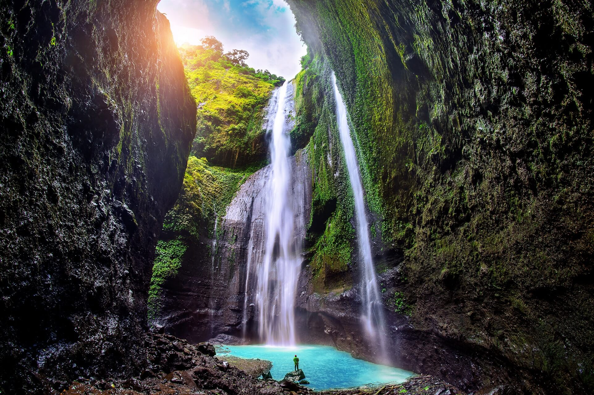 Java kann seinen Reisenden eine unglaubliche Natur bieten