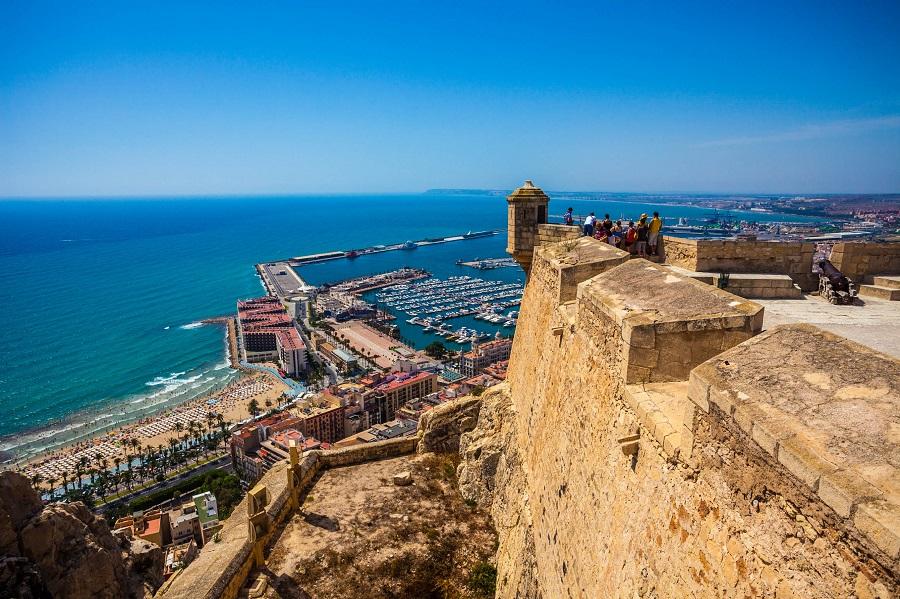 Alicante Tipps Santa Barbara Castle Spanien