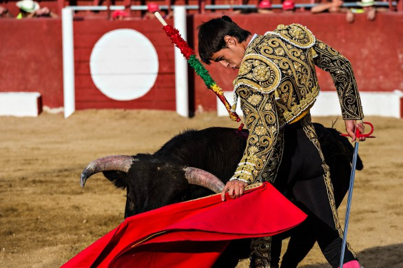 Stierlauf in Pamplona Matador