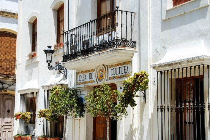 Estepona culture house.