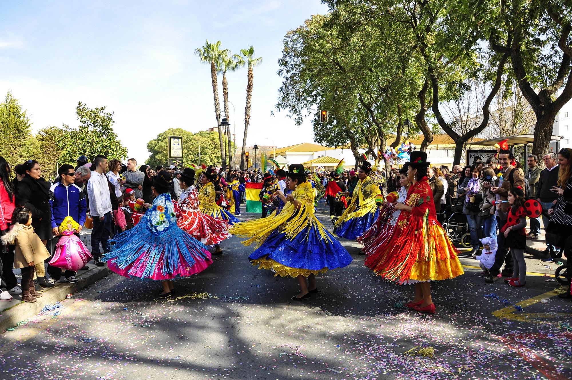 Karneval in Andalusien