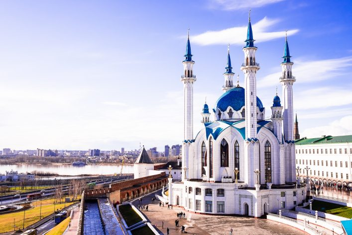 Die Moschee von Kazan