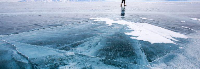 Der Baikalsee im Winter