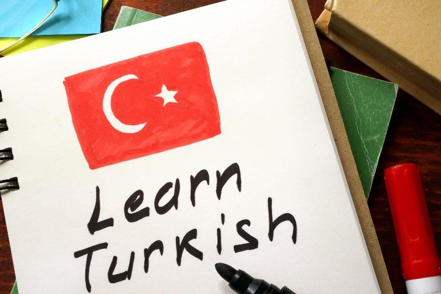 Buch zum Türkisch lernen