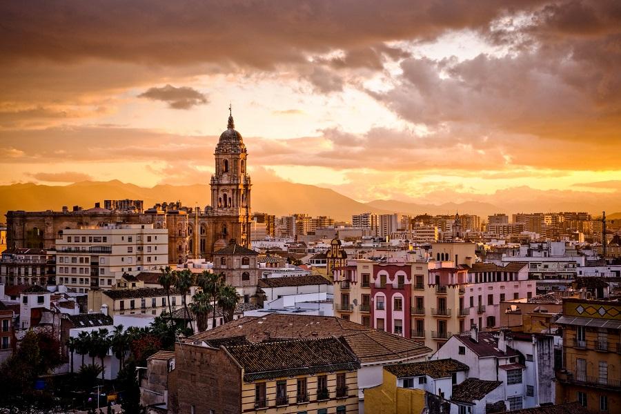 Andalusien, Malaga city