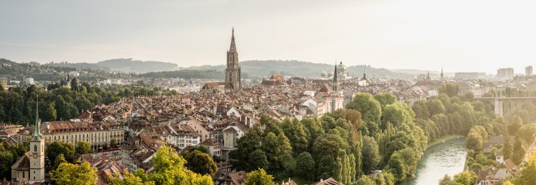 Switzerland Cities: Bern, Rosengarten