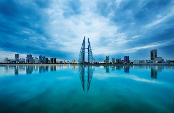 Bahrain-Skyline
