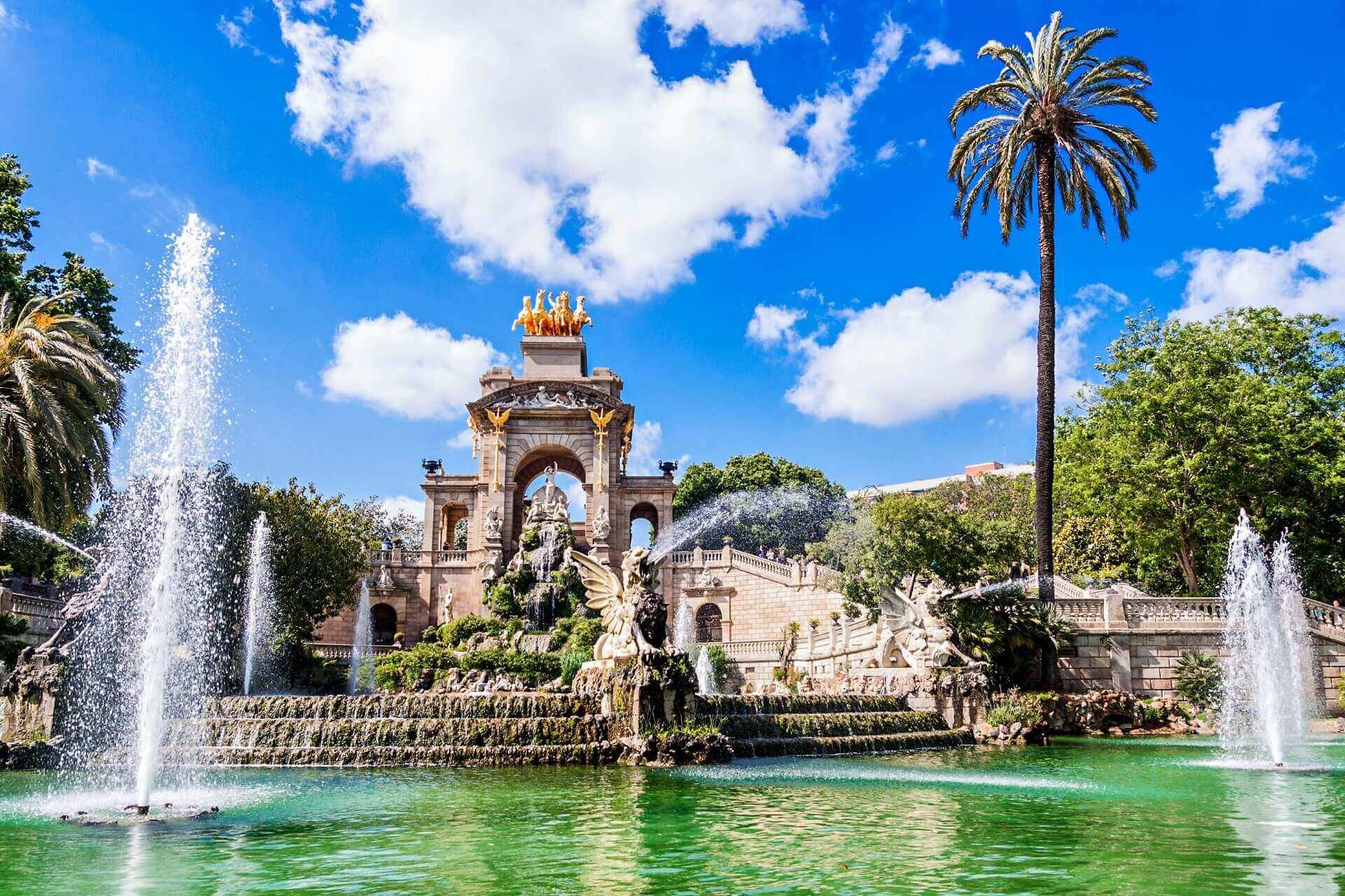 Der Park de la Cuitadella in Barcelona