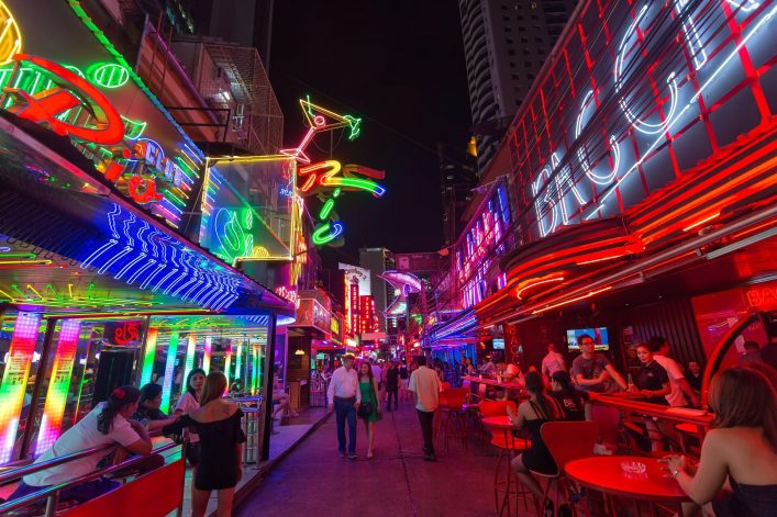 EDITORIAL-ONLY-Stephane-Bidouze.-View-on-the-colorful-neon-lightings-filling-the-Soi-Cowboy-streetshutterstock_518568019