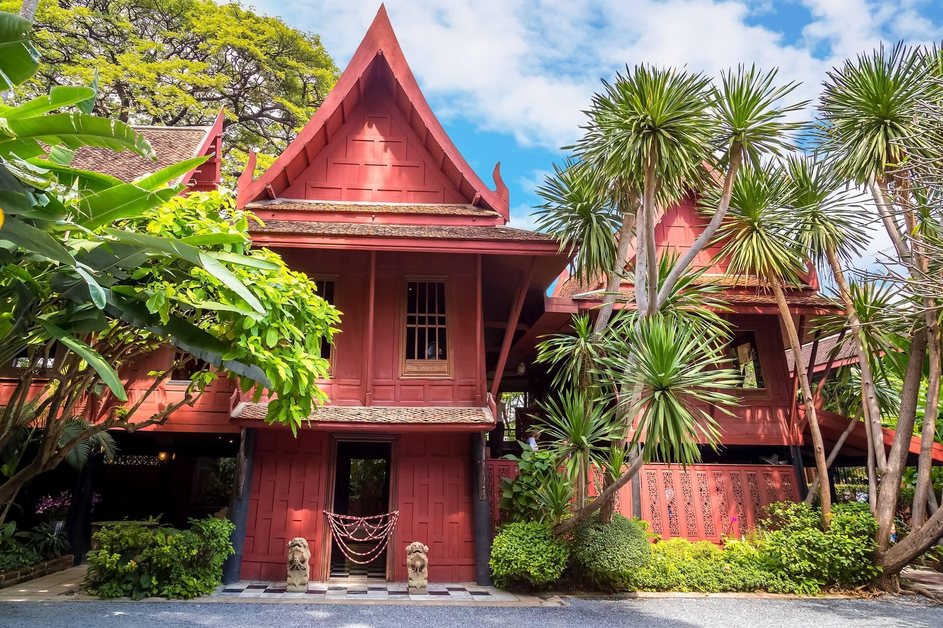 Das Jim Thompson Haus in Bangkok ist eine beliebte Sehenswürdigkeit