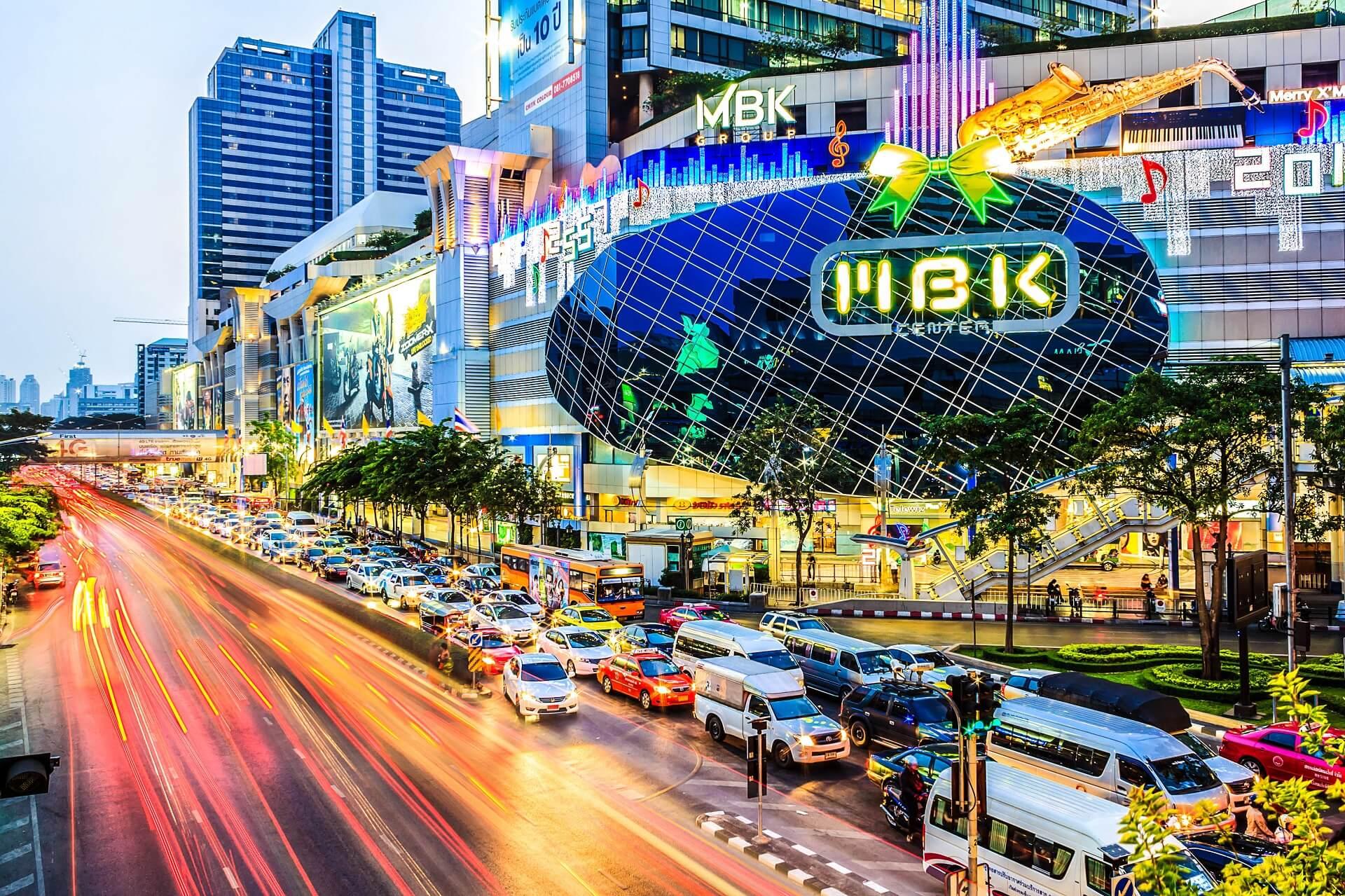 Die MBK shopping Mall ist eine der top Sehenswürdigkeiten in Bangkok