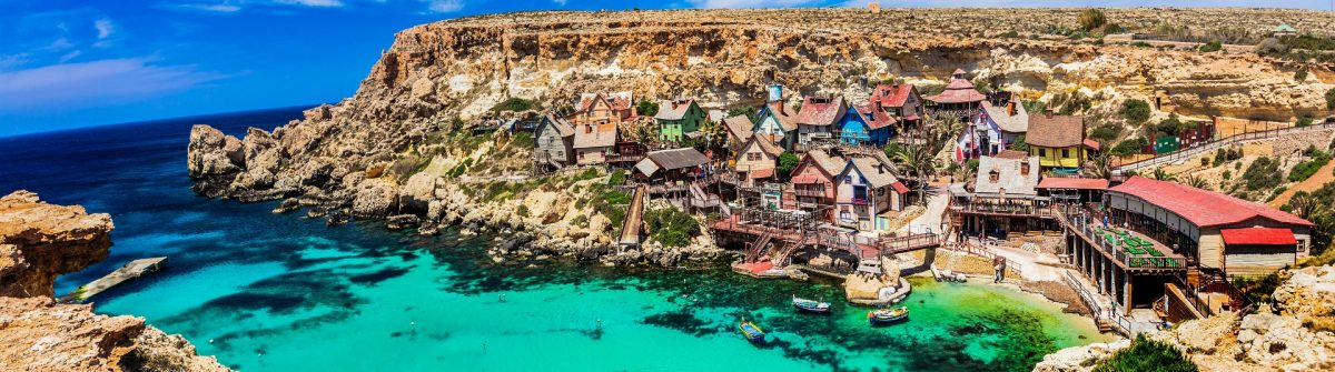 famous Popeye village in Malta