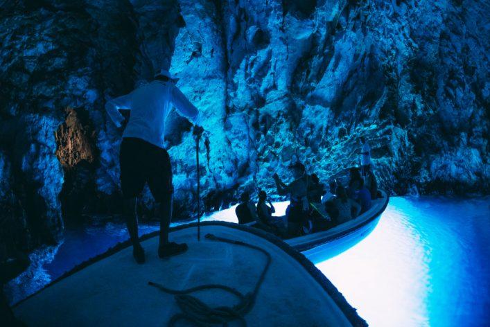 Blaue Grotte auf Vis