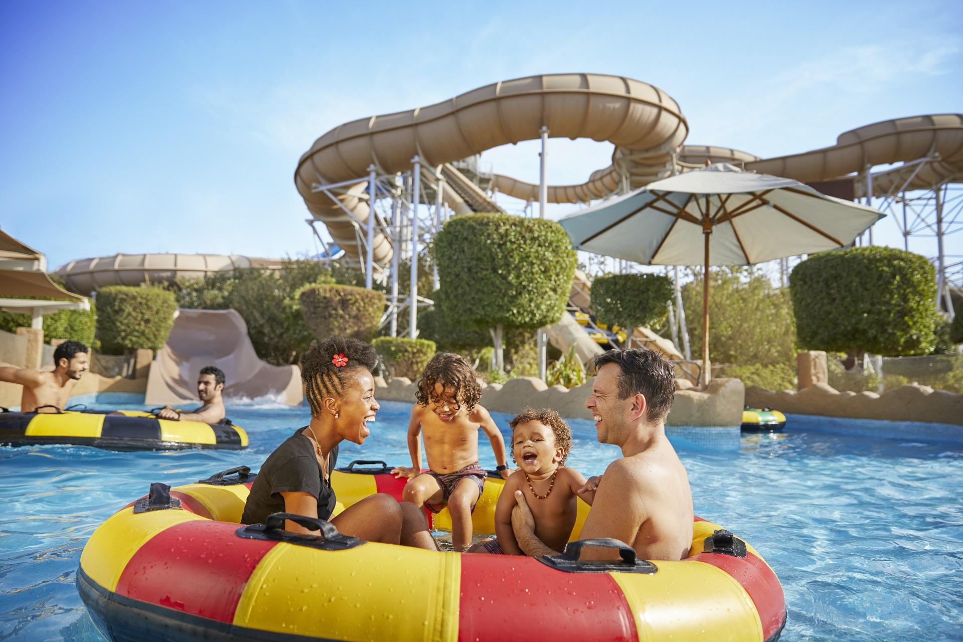 Im Bahrain Waterpark könnt ihr euch erfrischen