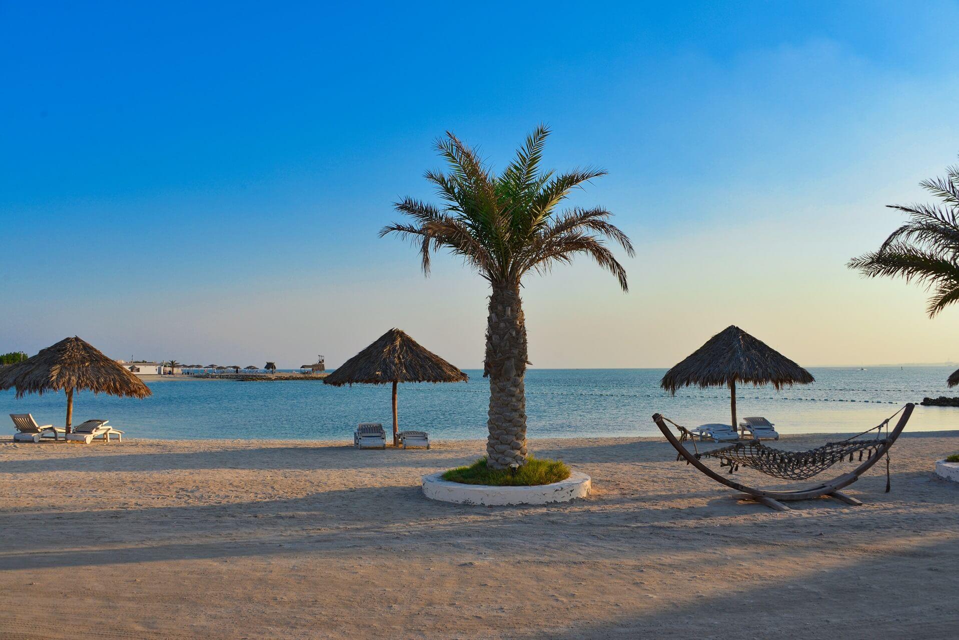 Al Dar Island gehört zu den Inseln von Bahrain