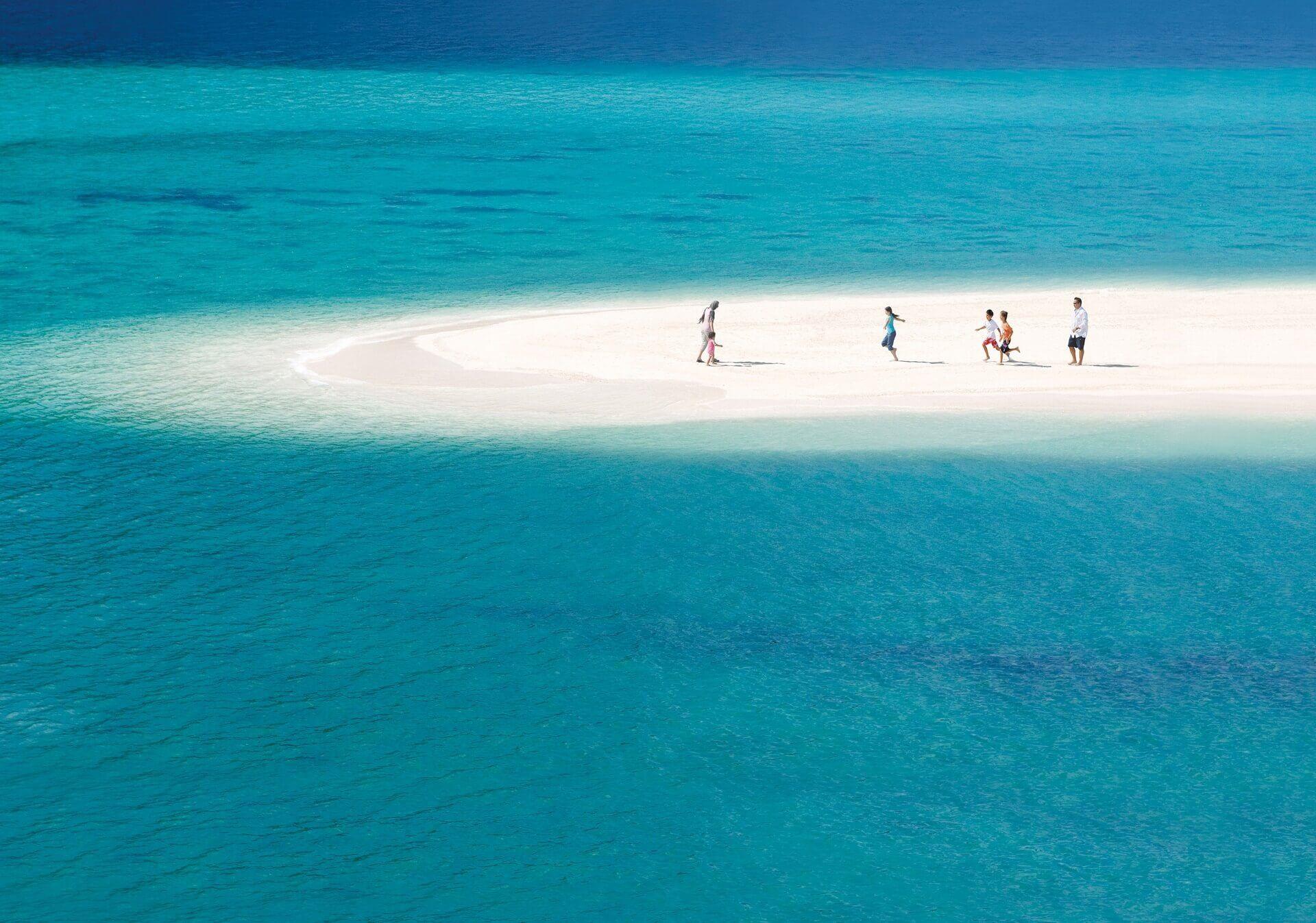 Strandurlaub in Bahrain auf der Insel Jeradah