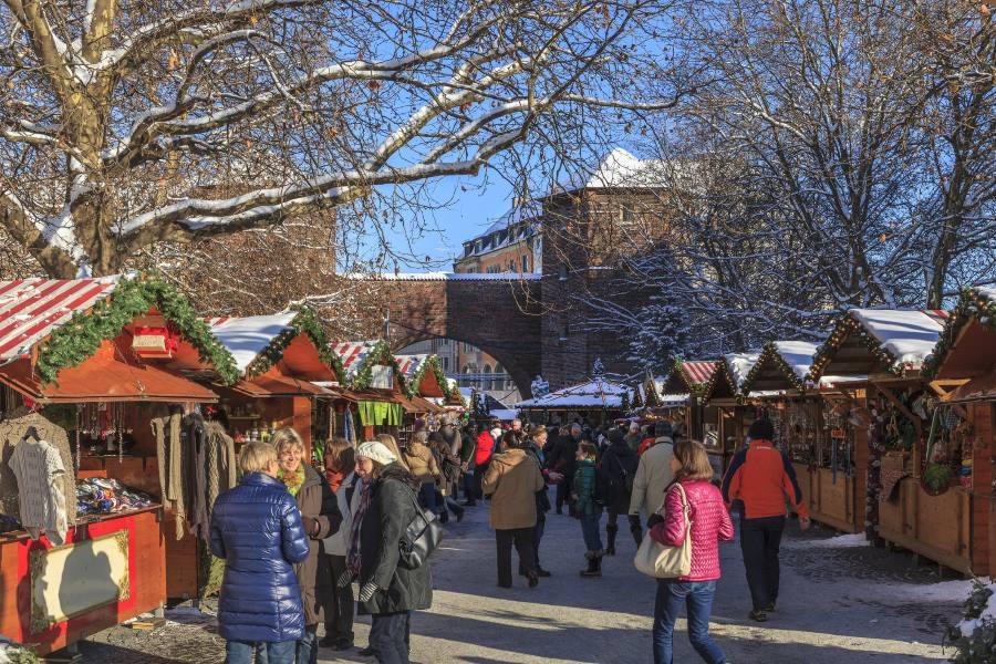 Weihnachtsmarkt am Sendlinger Tor in München