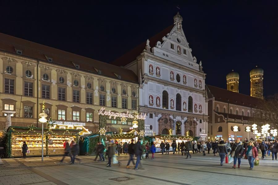 Kripperlmarkt in München