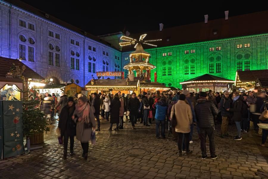 Weihnachtsdorf in der Münchner Residenz