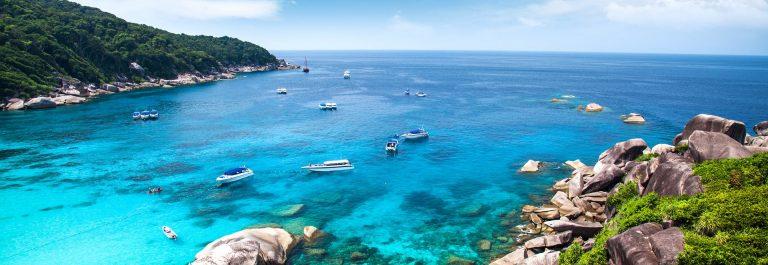 Similan islands. Thailand
