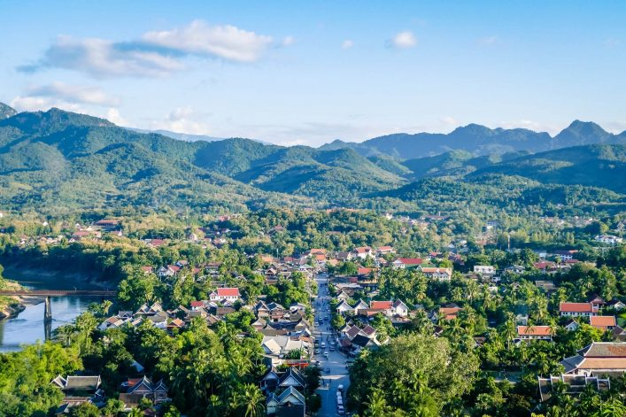 Luang-Prang-Laos-View-from-Mount-Phousi.-South-East-Asia-View-of-the-town-and-surrounding-countryside-from-the-top-of-Mount-Phousi-shutterstock_1010550346