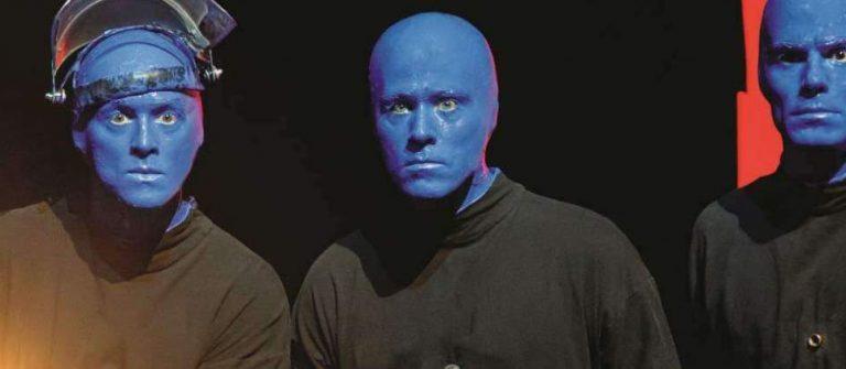 Szene von Blue man Group