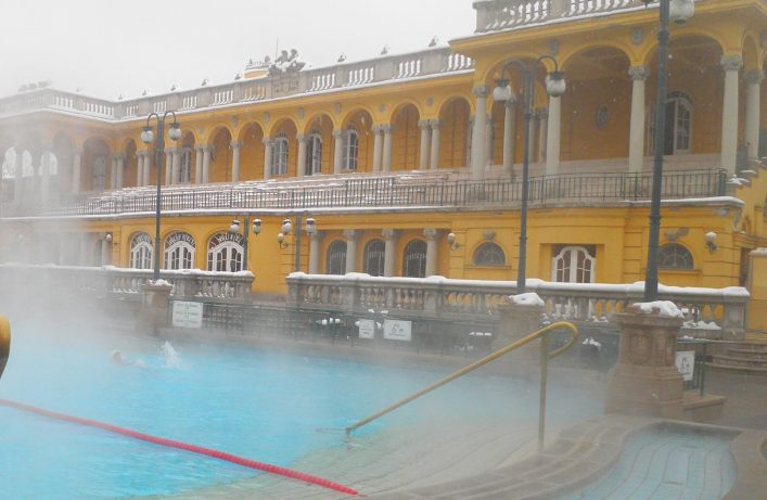 Szechenyi-thermal-spa-bath-in-Budapest-at-winter-day-Hungary.-shutterstock_150536441
