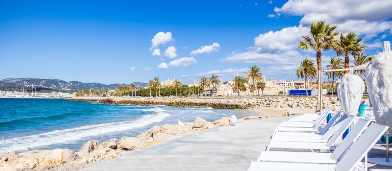 Beach and Promenade of Playa de Palma