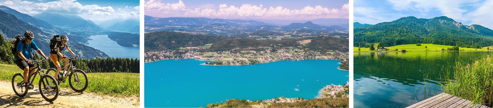 Seen Kärntens, die während der Osterferien besonders sehenswert sind