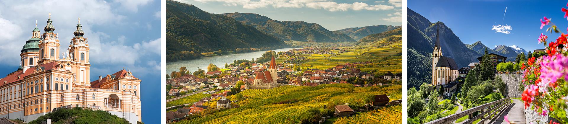 Die tolle Frühlingslandschaft Niederösterreichs im April