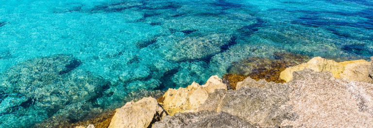 Beach Es Trenc – beautiful coast of Mallorca, Spain