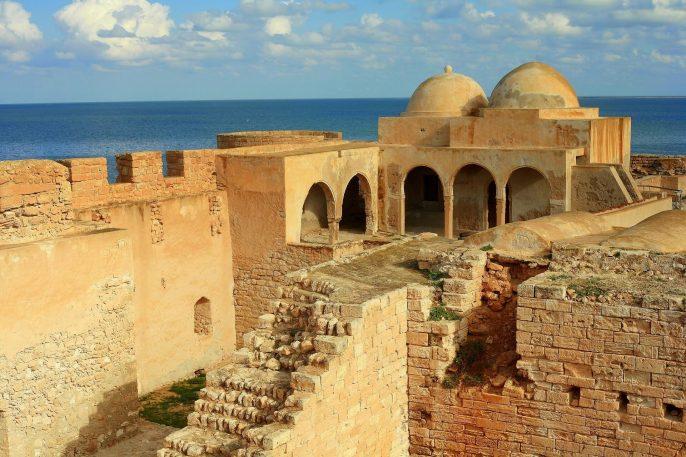 Die Ruinen der Burg Borj El Kebir