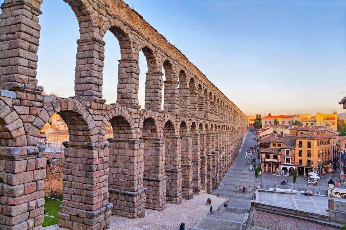 Römisches Aquädukt in Segovia
