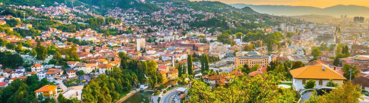 Sunset-view-of-Sarajevo-from-most-popular-panoramic-spot-in-Sarajevo-Yellow-Fortress-Zuta-Tabija-Vratnik-shutterstock_1195913626