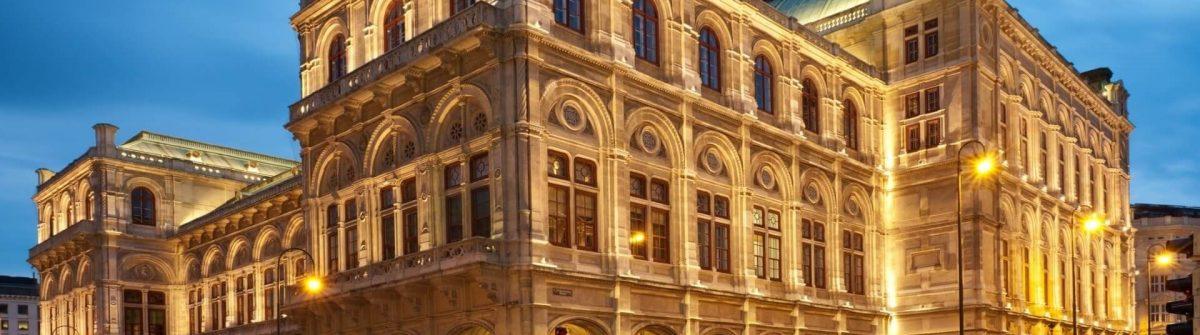 Die Wiener Staatsoper von außen
