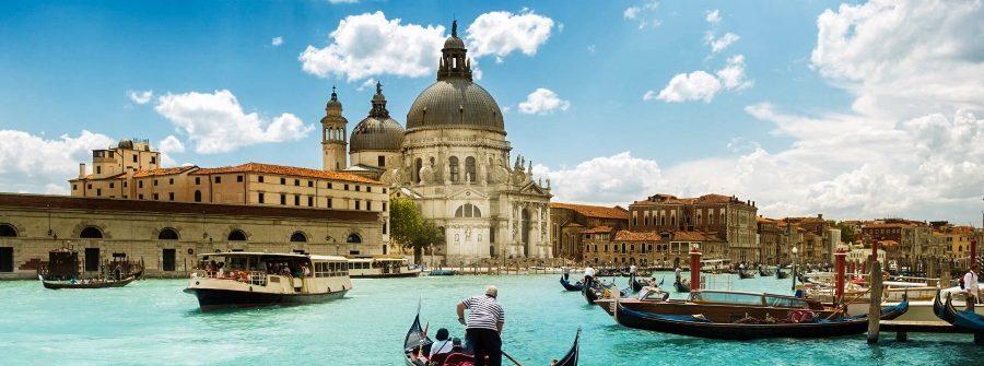 Eine Gondelfahrt in Venedig