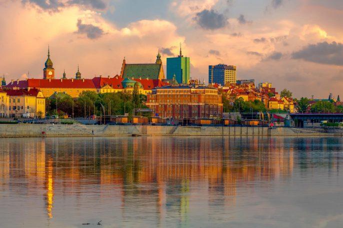 Altstadt von Warschau, Polen