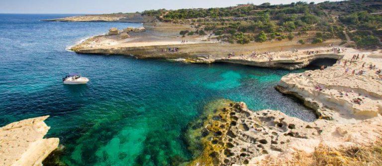 St. Peters Pool auf Malta