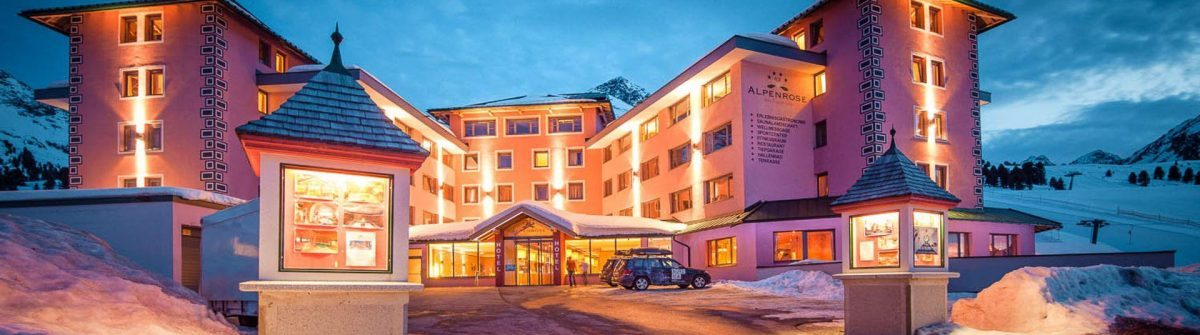 HE Hotel Alpenrose Kühtai in Tirol