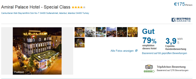 hotel amiral istanbul