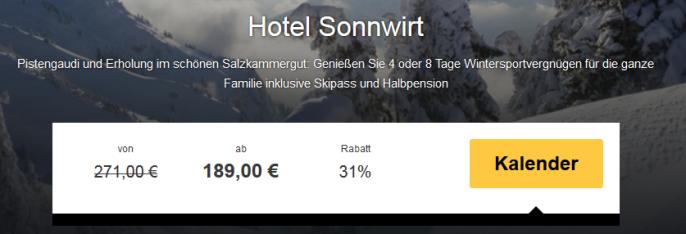 Hotel Sonnwirt travelbird