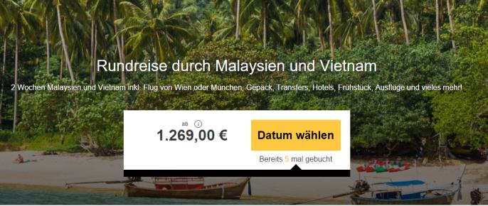 ss rundreise vietnam malaysien