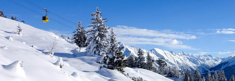 winter landscape with gondola Steiermark Österreich Austria shutterstock_241947076-2
